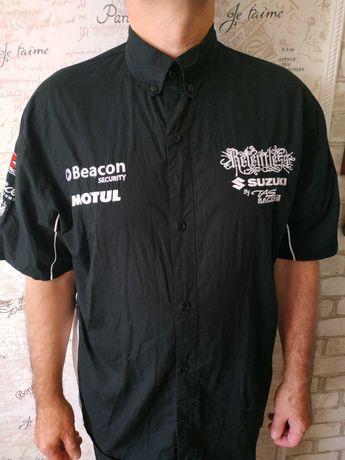 """Рубашка  """"Suzuki""""Мотогонки,ХL)"""