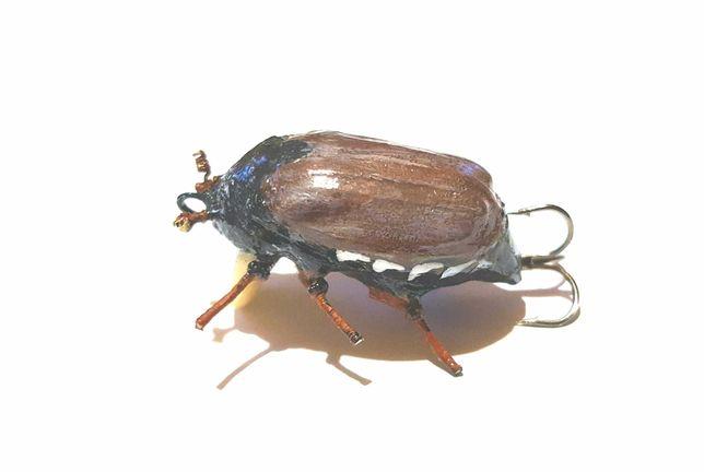 Воблер Майский жук - поверхностная приманка на головля , язя , жереха.