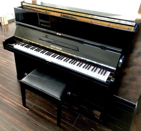 Pianino czarne August Forster 120