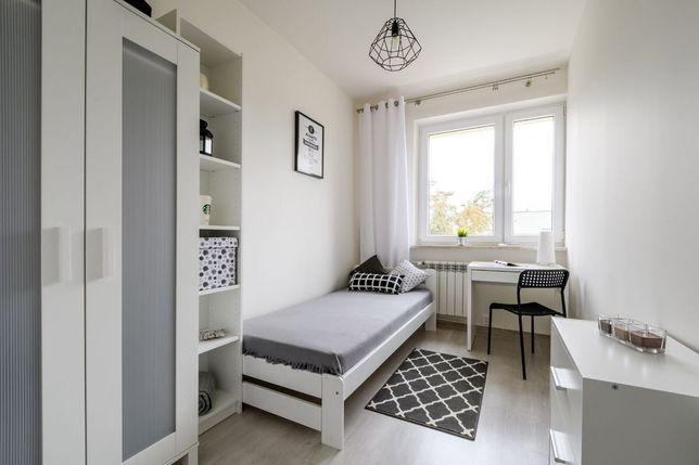 Przytulny pokój 1os przy Metrze Ursynów/ SGGW/ ul. Puszczyka 5