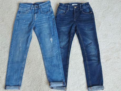 Spodnie jeansowe Reserved rozm.146 jak NOWE