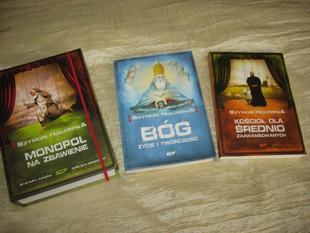 Szymon Hołownia, zestaw książek z grą planszową w atrakcyjnej cenie !!