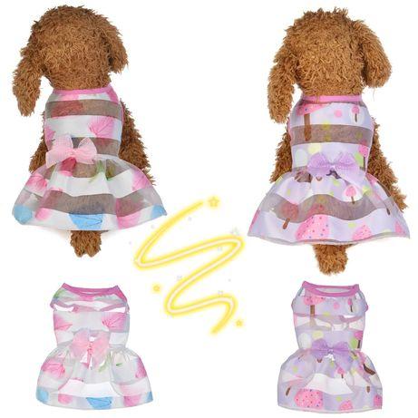 Nowa!!LETNIA Sukienka dla Psa/ kota kobiety.