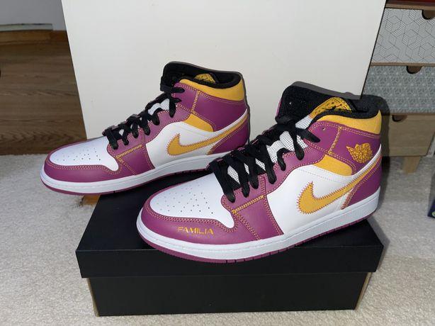 Buty Nike Air Jordan 1 Mid Para mi Familia NOWE 45