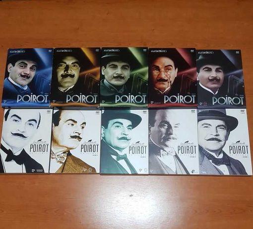 Mega Coleção POIROT (Agatha Christie) SÉRIE + FILMES (David Suchet)