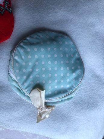bolsa para maquilhagem às bolinhas