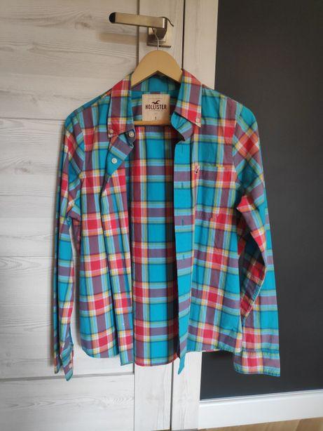 Koszula Hollister w kratę, rozmiar S