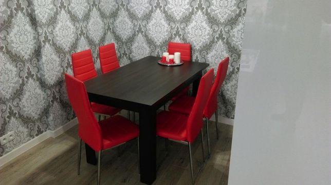 Stół do jadalni + 6szt. krzeseł