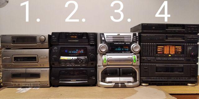 Zestaw 30szt cena w komplecie 1000zł. Starsze sprzęty audio, muzyczne
