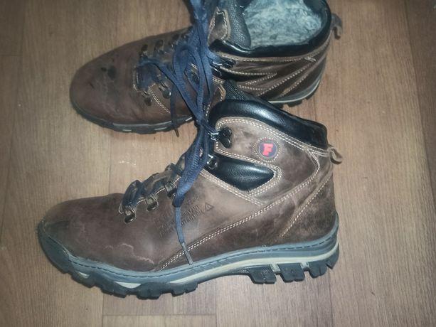 Мужские подростковые ботинки зима