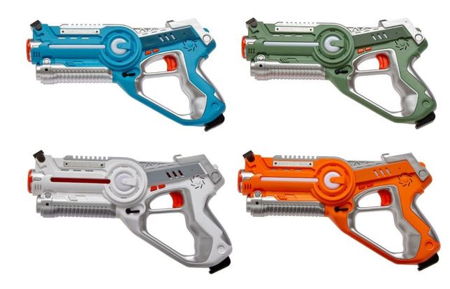 Лазерный бой - набор лазерных пистолетов, Лазертаг для активной игры