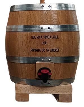 Barril de madeira novo - Barril Bag in Box - Barril de vinho