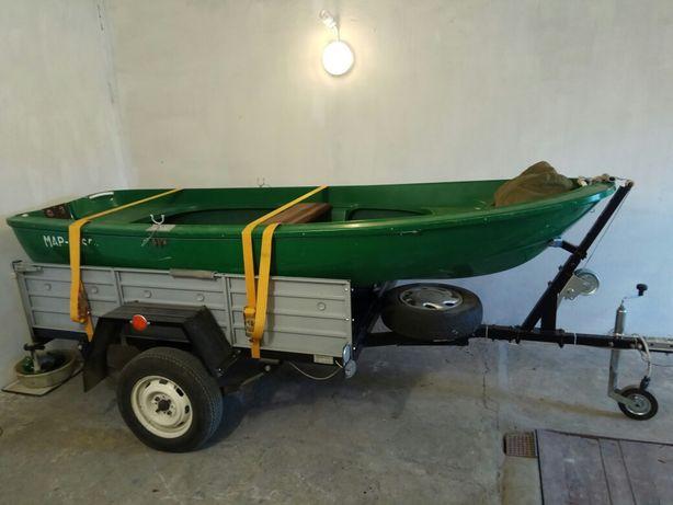 Стеклопластикавая лодка Лагуна 350