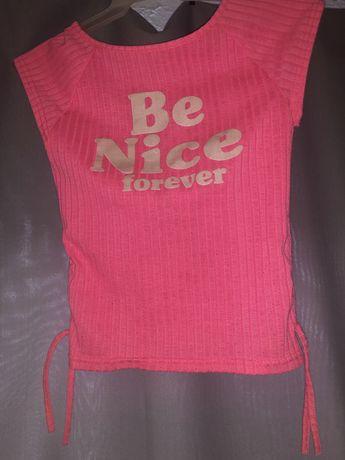 Śliczna różowa bluzka