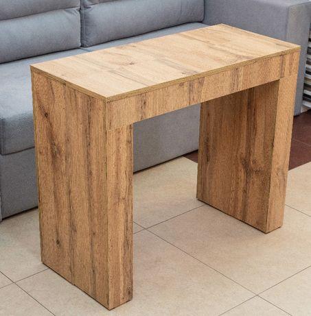 Стол-трансформер дуб.Консоль. Стол раскладной обеденный, кухонный.