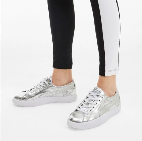 Кроссовки кеды PUMA Love Metallic Women's Sneakers