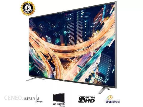 Telewizor TCL LED U55S7906 4K stan idealny ultracienki tylko 9,9mm
