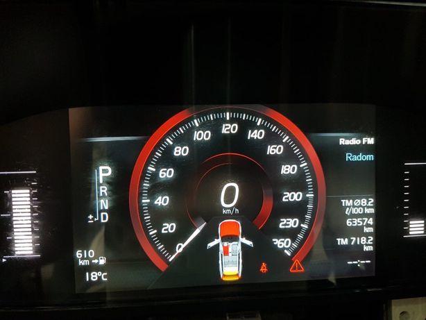Volvo XC 90 zegary ekektroniczne