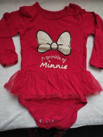Świąteczne body Minnie 86