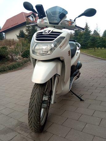 Skuter maxi Peugeot LXR 125
