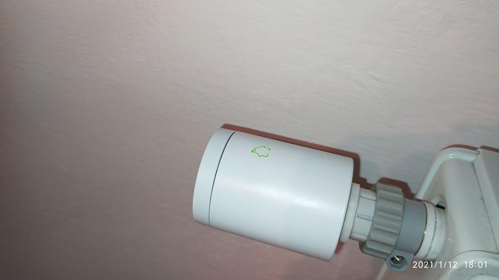 4x Głowica termostatyczna MOES +bramka zigbee3 WiFi Tuya +LCD czujnik Gołdap - image 1