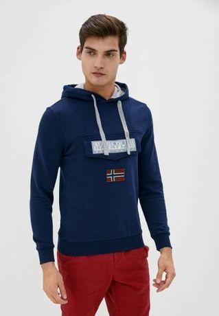 Новый Оригинал Худи Свитшот Napapijri Ellesse Ralph Adidas Nike Stone