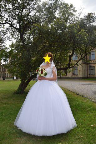 Продам свадебное или выпускное платье