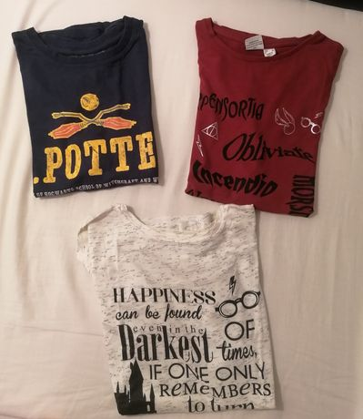 T-shirts Harry Potter Unissexo