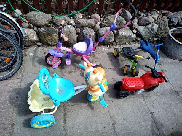 Rowerek jeździk dla dziecka rozne