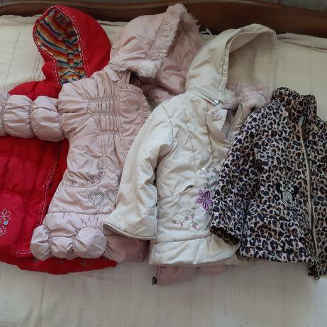 Куртка для девочки, осень, зима, 2-3 года