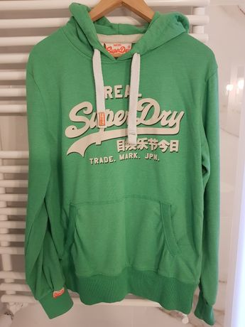 Superdry zielona bluza L