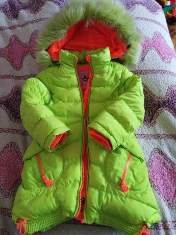 Пуховик, пальто для девочки