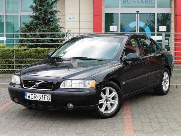 Volvo S60 # 2003 # 2.0 Turbo 180 kM # Navi # Skóra # Zarej PL