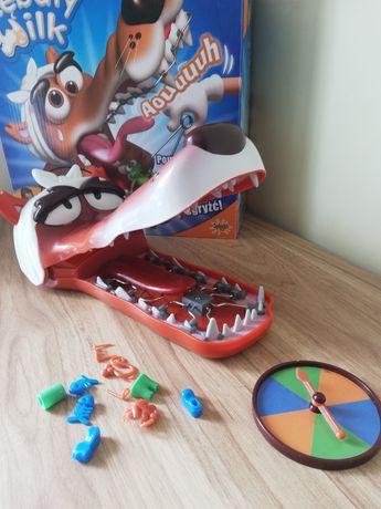 Gra zręcznościowa Zębaty wilk, wilk u dentysty