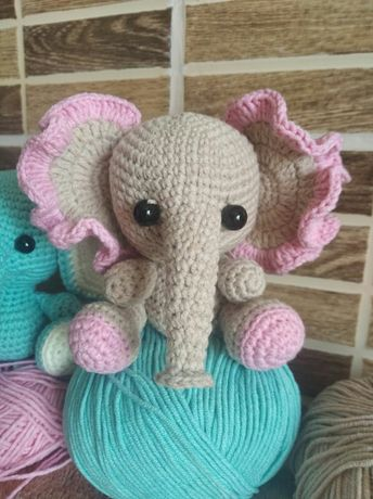 Слоники мягкие игрушки для деток
