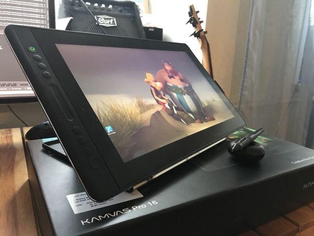 Графический планшет (графический монитор) Huion Kamvas Pro 16 новый