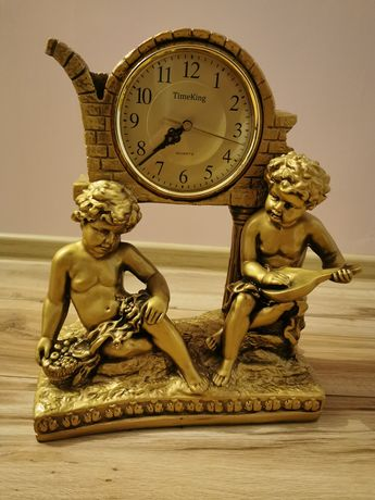 Zegar TimeKing mechanizm Kwarcowy stylizowany na zabytkowy