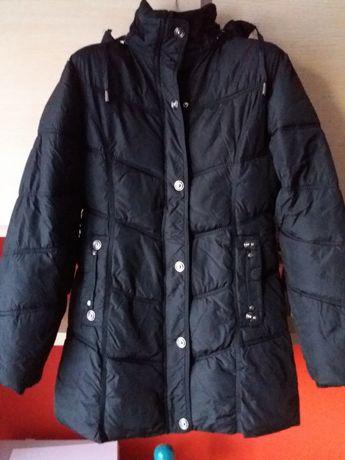 kurta zimowa pikowana czarna