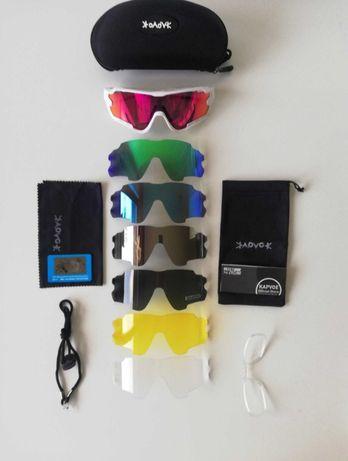 Óculos de ciclismo polizados UV 400
