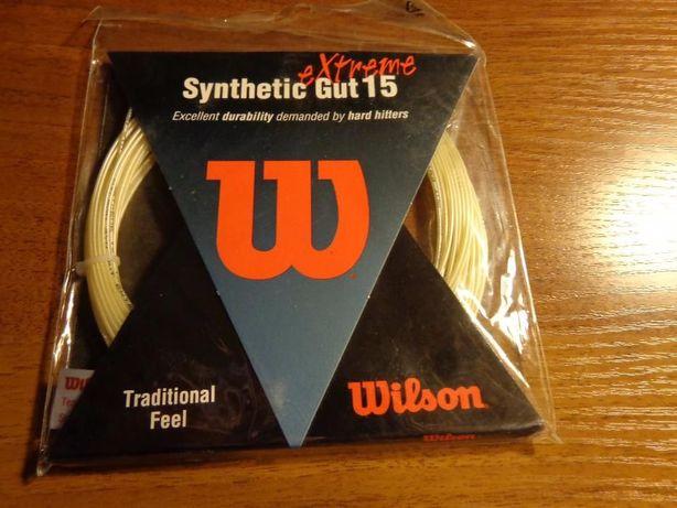 Струны теннис wilson synthetic gut extreme 15