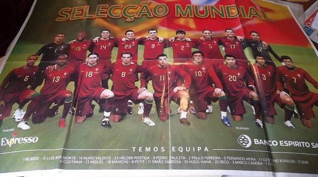 3 posters gigantes Selecção Nacional de Futebol