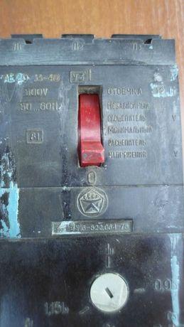 Автоматический выключатель АЕ20  33-40  500в