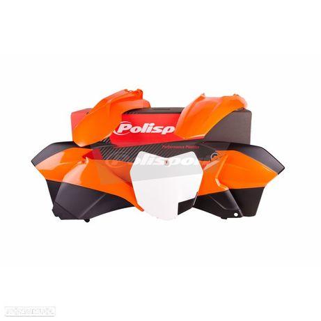 kit plasticos polisport ktm sx 125 / 250 / 350 / 450