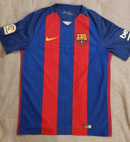 męska koszulka piłkarska 2016/17 F.C. Barcelona Stadium Home