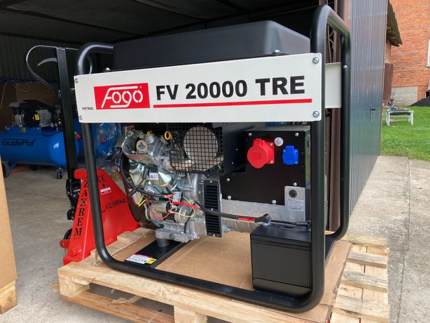 AGREGAT PRĄDOTWÓRCZY  FOGO 19,5 kVA/ AVR - 230/400V   45 L Zbiornik