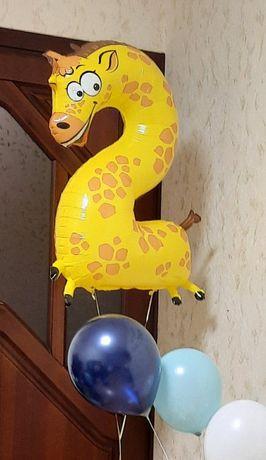 Шарик гелевый на день рождения 2 года