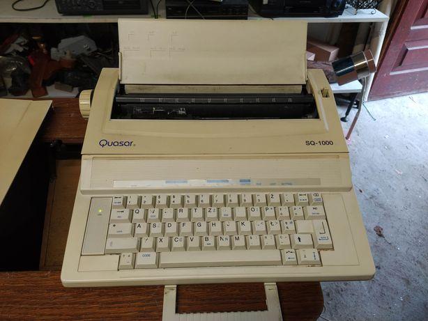 Stara elektryczna maszyna do pisania prl antyk