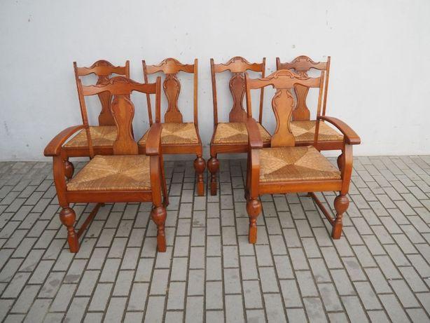 Komplet 4 krzeseł holenderskich + 2 fotele 649