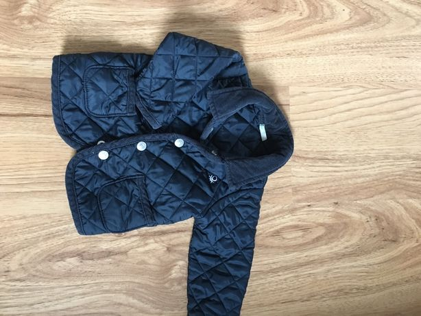 Pikowana kurtka benetton rozmiar 62