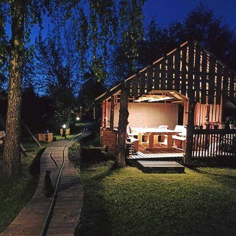 Augustów- domek nad rzeką pokoje, sauna, gorąca beczka